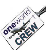 One World Cathay Pacific Tag